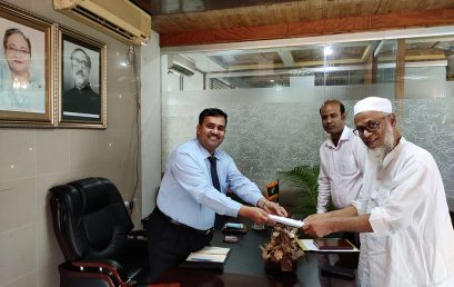 Prof. Dr. Md. Monjur Hossain joined as 1st VC of CUST