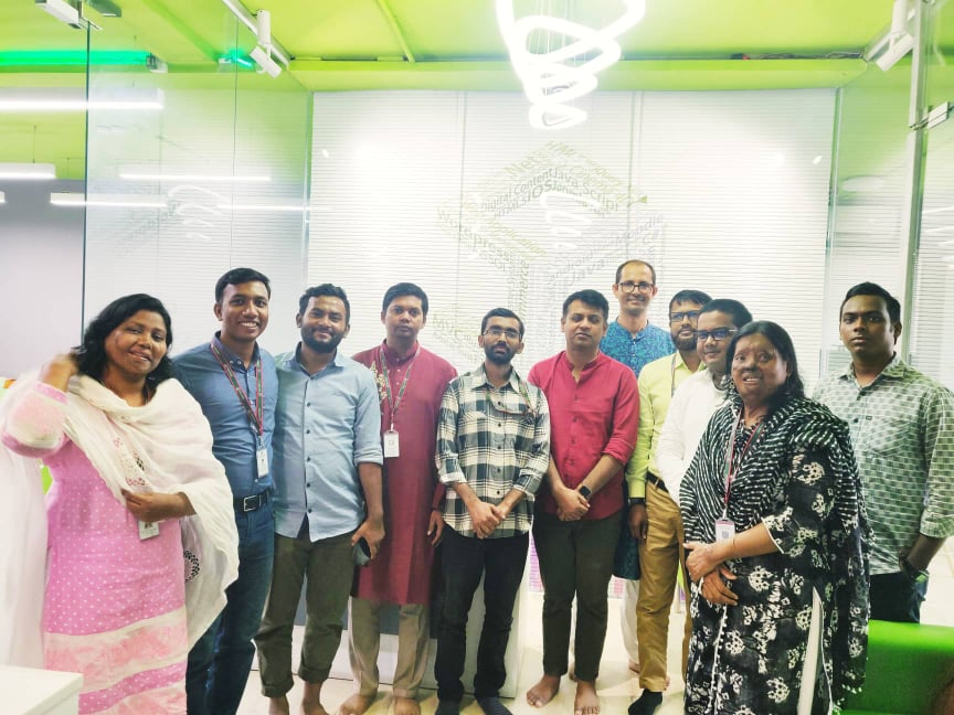 Students of MBA 1st Batch Visits Systech Digital