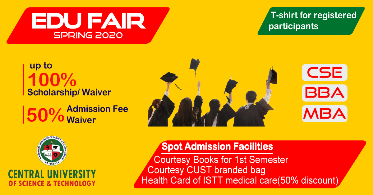 Education Fair of Spring 2020 Semester